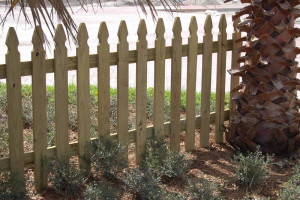 sunbelt french gothic fence