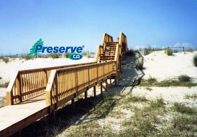 Wood Deck Preserve CA